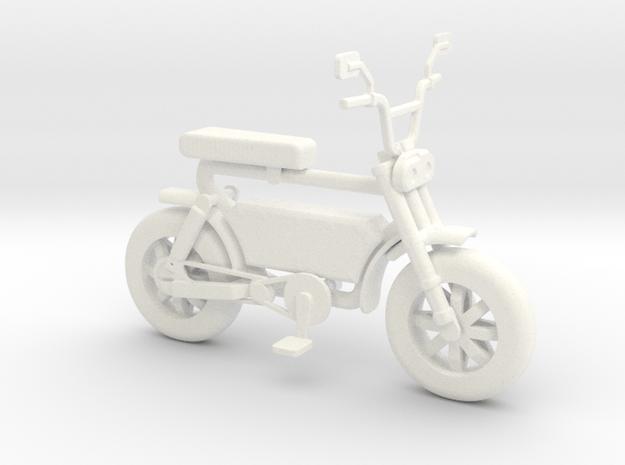 Cirkit Ebike in White Processed Versatile Plastic