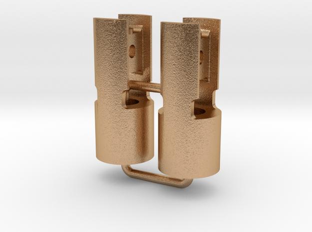 de Winton Crosshead Pair (SM32) in Natural Bronze (Interlocking Parts)
