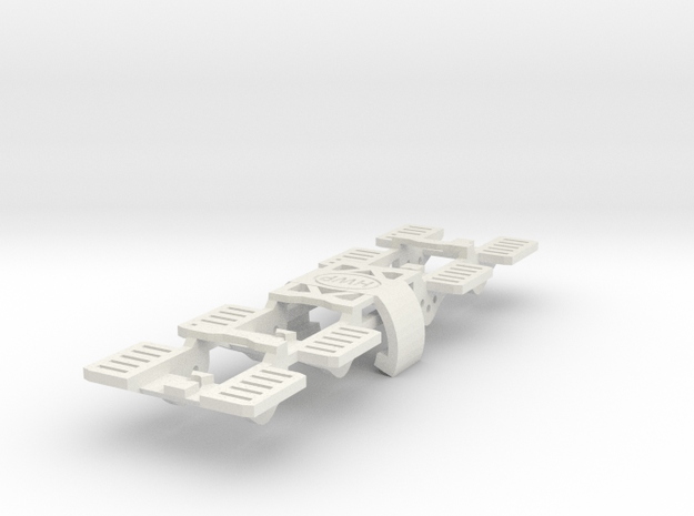 SL2 Chassis Replacement Front Ends 4-Pack in White Natural Versatile Plastic