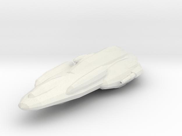 MC40a light cruiser in White Natural Versatile Plastic
