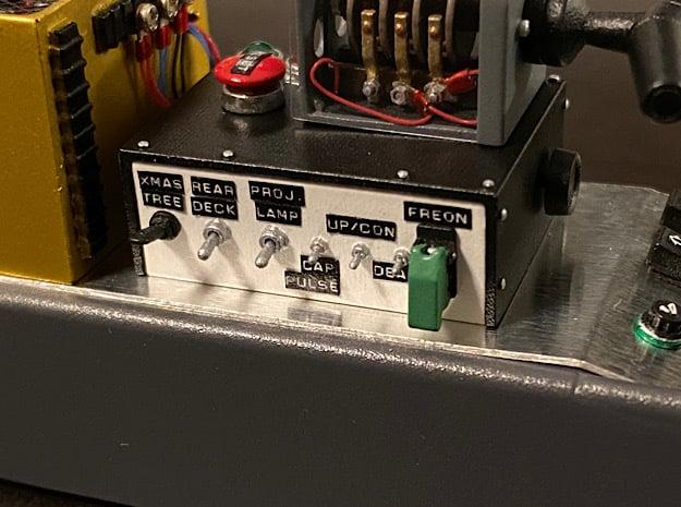 1:8 BTTF DeLorean TFC in Smoothest Fine Detail Plastic