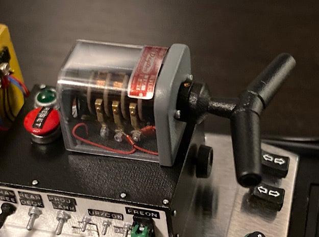 1:8 DeLorean Dayton switch in Smoothest Fine Detail Plastic