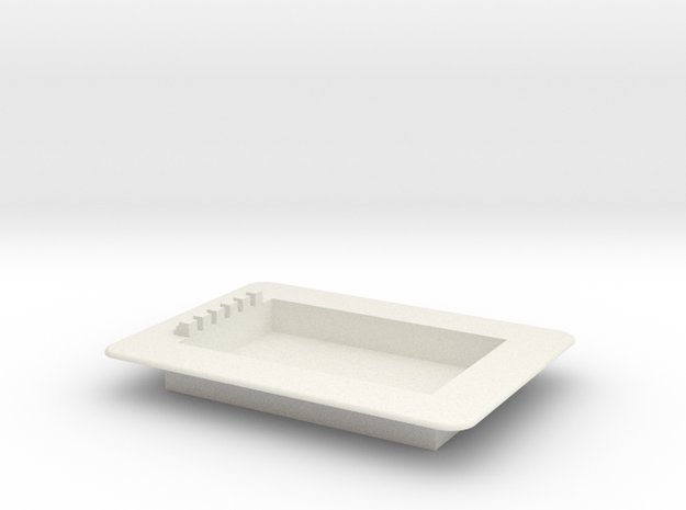 Schwimmbad Swimmingpool Schwimmbecken Pool Komplet in White Natural Versatile Plastic