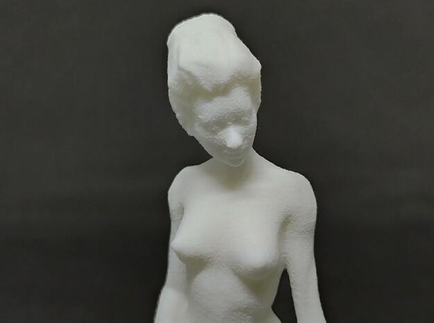 Nude Girl in White Natural Versatile Plastic