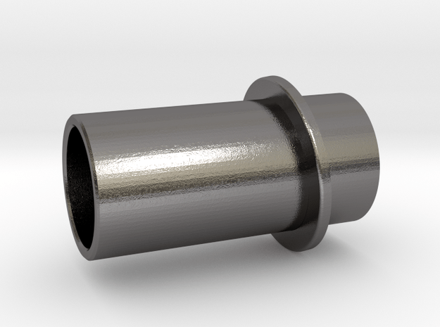 Exhaust Pipe in Polished Nickel Steel