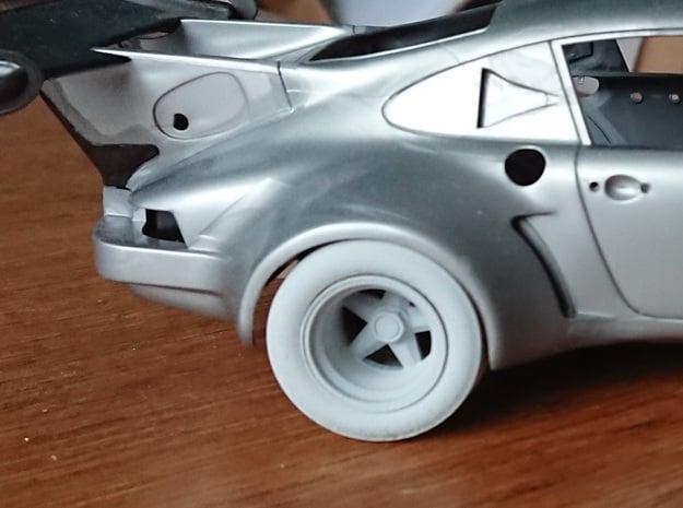 RSR Wheels in Smoothest Fine Detail Plastic