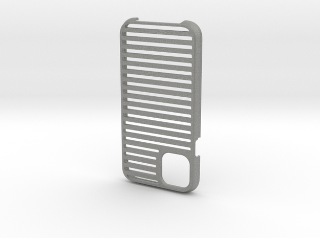 long rails iphone 11 case in Gray PA12