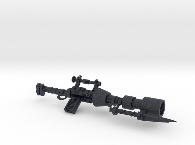 Valance ntw337 blaster now for 3 3/4 figures! in Black PA12