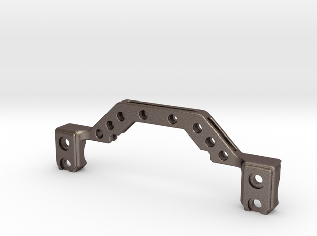 Metal Truss for Enduro Axles in Polished Bronzed-Silver Steel