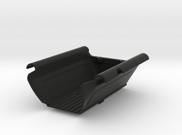 """Flapless"" Drop Bed for Axial Capra in Black Natural Versatile Plastic"