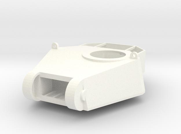 28mm SciFi tank cast turret