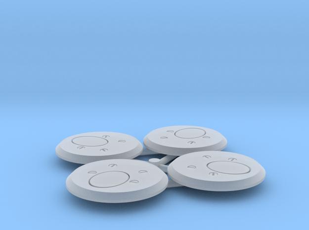 1:16 Nahverteidigungswaffe (4-pack) in Smooth Fine Detail Plastic