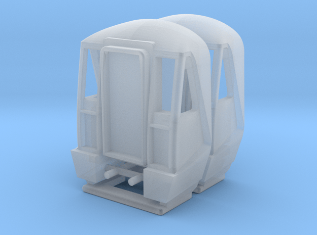 N Gauge Class 442 Cabs in Smooth Fine Detail Plastic