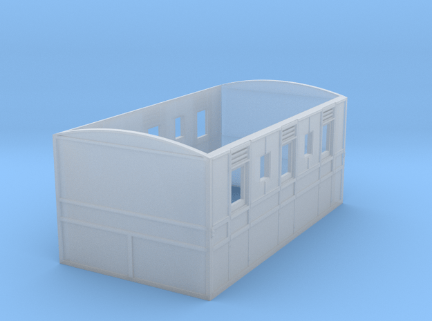 Culm Valley 3rd Carriage in Smooth Fine Detail Plastic