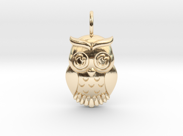 OWL in 14K Yellow Gold
