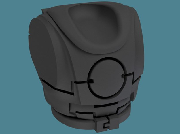 FW Torsos, pack of 10/20/30 in Smooth Fine Detail Plastic: d10