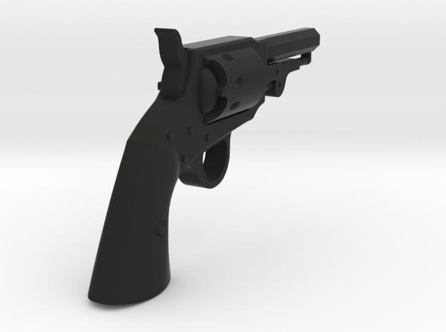 Ned Kelly Gang Colt 1851 Pocket Revolver 1:18 scal in Black Natural Versatile Plastic