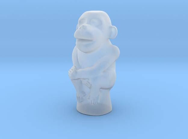 Jade Monkey in Smooth Fine Detail Plastic