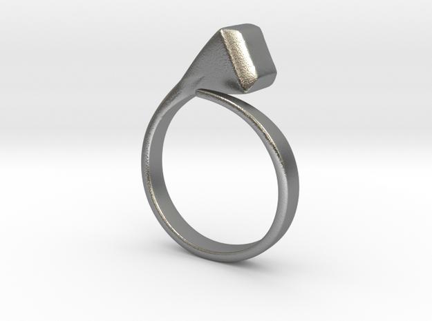 Horseshoe's nail [ring] in Natural Silver