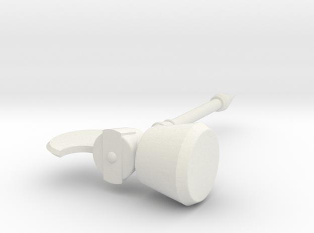 Termendous MJolnir Big in White Natural Versatile Plastic