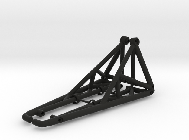 HD Tree Kickers/Sliders/Nerf Bars for Axial Capra in Black Natural Versatile Plastic