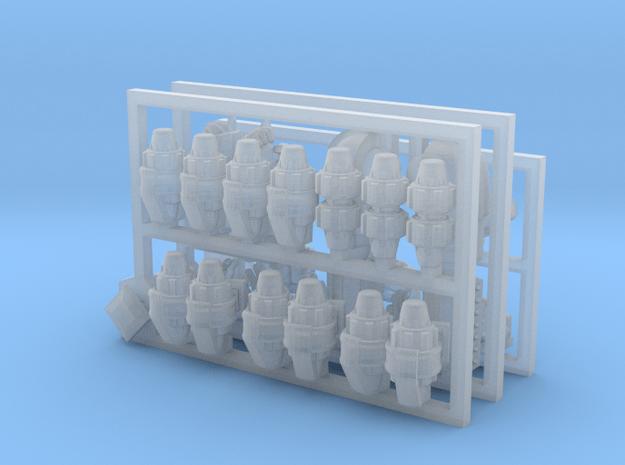 Premium Frag Grenade Upgrade Kit in Smoothest Fine Detail Plastic
