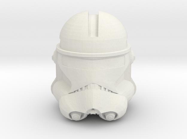Echo- Season 7 Helmet   CCBS Scale in White Natural Versatile Plastic