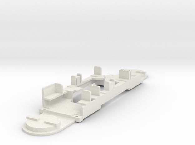 Antriebsboden GT6N Rietze Hödl für Vario Antrieb in White Natural Versatile Plastic