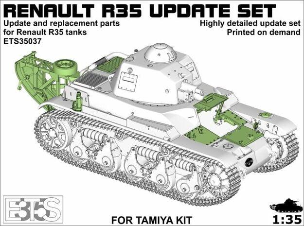 ETS35037 - Renault R35 updates in Smooth Fine Detail Plastic