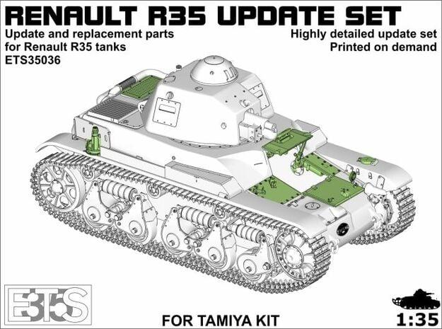 ETS35036 - Renault R35 updates in Smoothest Fine Detail Plastic