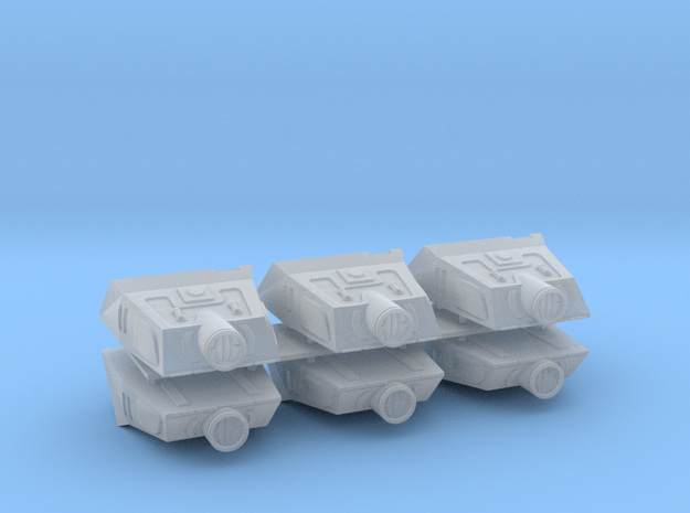 1/537 TMP Shuttle 6 Pack in Smooth Fine Detail Plastic