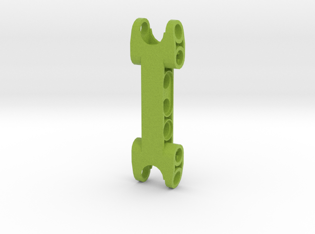 Lime Green Connector in Natural Full Color Sandstone