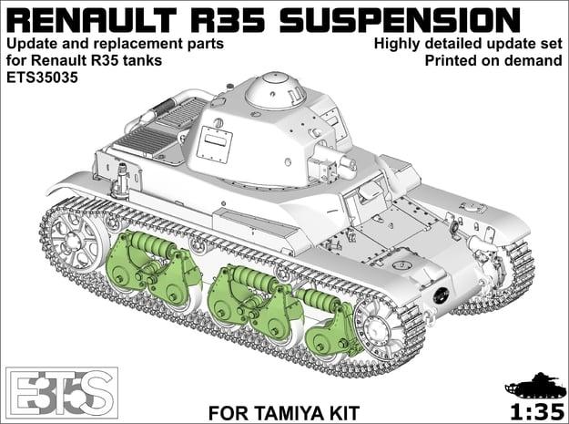 ETS35035 - Renault R35 suspension update in Smooth Fine Detail Plastic