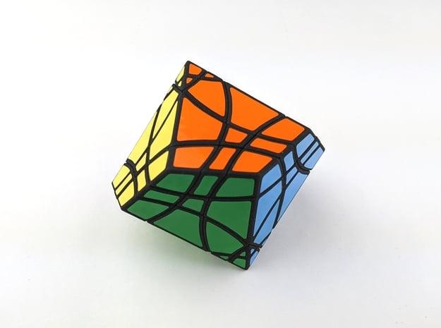 LunaMinx Puzzle in White Natural Versatile Plastic