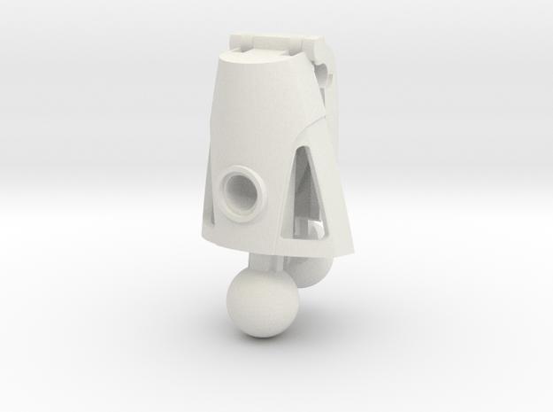 Articulated Nuva Leg in White Natural Versatile Plastic