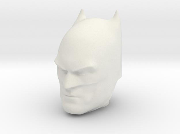 Batman   Comic Version   CCBS Scale in White Natural Versatile Plastic
