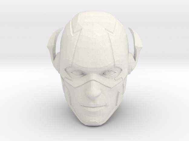 The Flash Head   CCBS Scale in White Natural Versatile Plastic