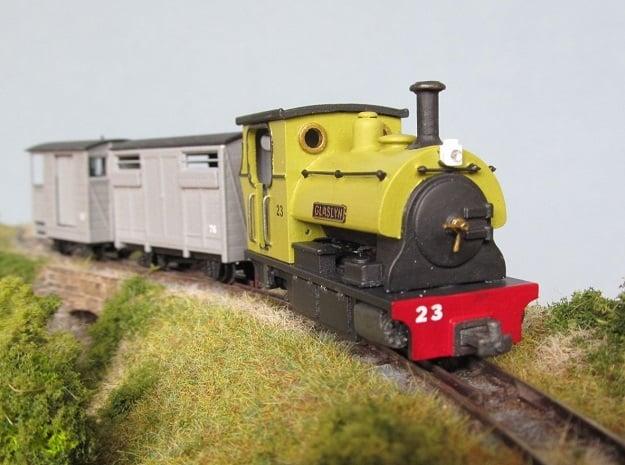 009 Peckett Style Tram Engine