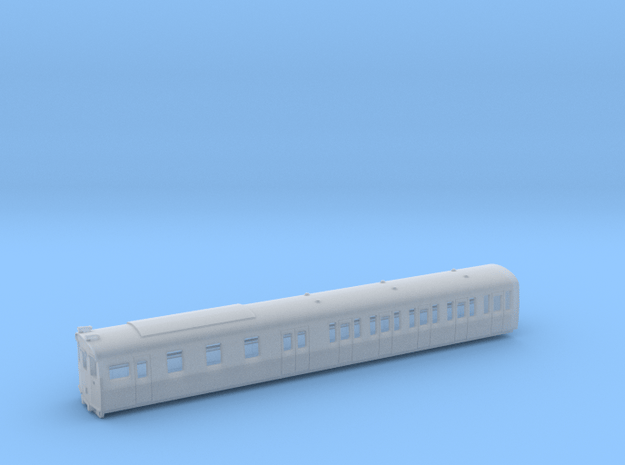 Class 207 DMS in Smooth Fine Detail Plastic