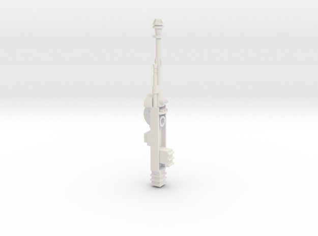 Star Wars POTF B-Wing Laser Cannons - Part 1 of 2 in White Natural Versatile Plastic