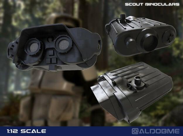 Imperial Binoculars in Smooth Fine Detail Plastic