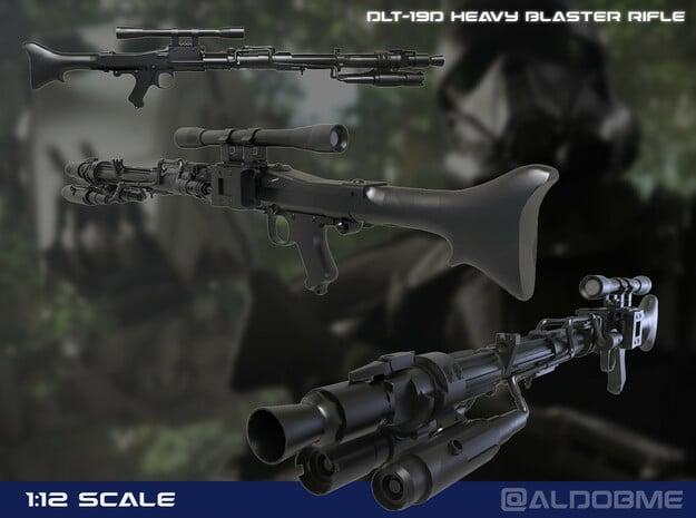 DLT-19D Heavy Blaster Rifle in Black PA12