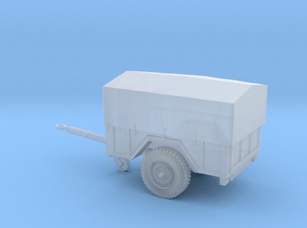 Remolque-¾Carga-144-proto-01 in Smooth Fine Detail Plastic