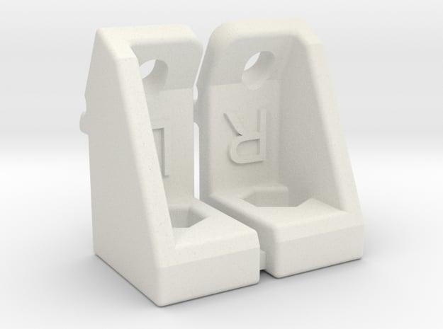 J6 J7 Tamiya Dyna Blaster sway bar brace in White Natural Versatile Plastic