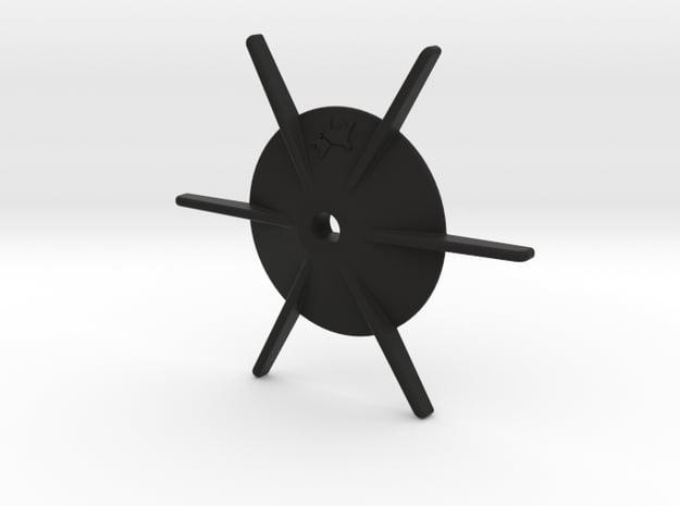 Gaggia MDF grinder dosing spider in Black Natural Versatile Plastic