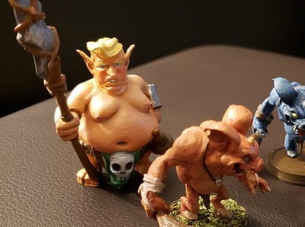 Trumplin Mini - Monsters of Murka in Gray PA12