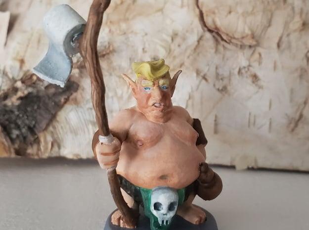 Toilet Paper Trumplin Mini - Monsters of Murka in Gray PA12