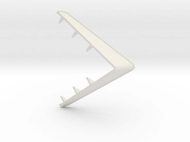 Type 14 frigate breakwater 1:48 in White Natural Versatile Plastic