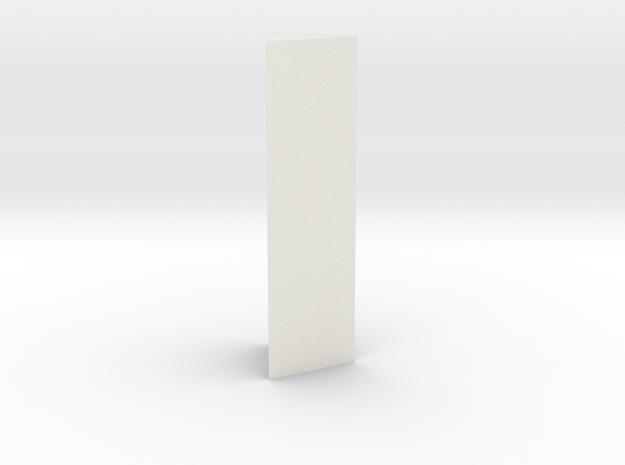Triangle x1 v1 in White Natural Versatile Plastic