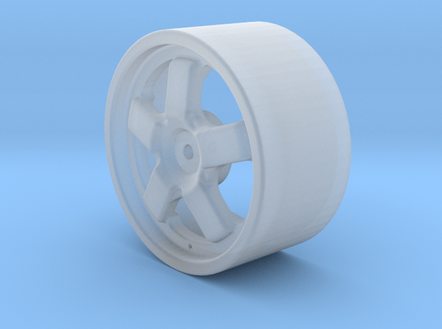 1:12 scale R32 Godzilla Wheel in Smoothest Fine Detail Plastic